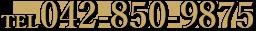 TEL:042-850-9875